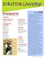 Bollettino n. 1-2009